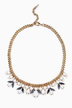ShopSosie Style : Sabrine Necklace in White