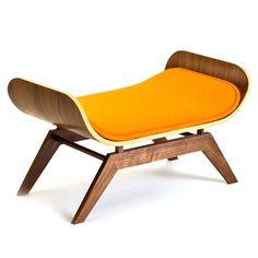 Mid century modern cat lounge