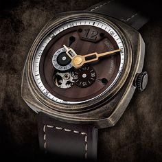 "Gentleman Warfare V-1 Gent Watch - Get the story behind this piece at: aBlogtoWatch.com - ""My name is Ilan Srulovicz, the founder of Egard Watches which initially started as a tribute watch for my father Peter. As with most watch enthusiasts, watches have always meant more than just telling the time to me - they were a way to define important moments, and Egard has allowed me to express that. My new watch, the Gentleman Warfare V-1 Gent watch is a natural extension of my passion..."""