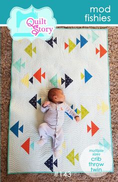 Quilt Story: Mod Fishies and Fabric Tuesday!