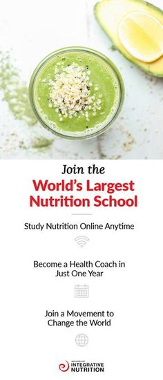 Passionate about health and wellness? Join the world's largest nutrition school and turn your passion into a career. As well as offering a flexible and convenient digital classroom, the Institute for Integrative Nutrition explores more than 100 dietary theories. Get an education that will empower you to transform your health and happiness and launch a fulfilling new career. Visit Integrative Nutrition to register for your free sample class.