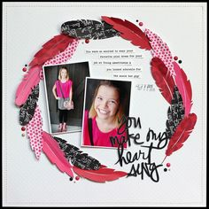 I can't really remember my scrapbooking before I got my Silhouette. Well, actually, I can remember it...and it involves lots of painstaking scissor and Xacto work, stabbed and sliced fingers, and a wh