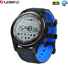 d5f79de3b0f2 Bluetooth Impermeable Reloj Inteligente Podómetro Calories For Android  iPhone