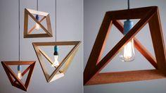 geometric lamp pendant