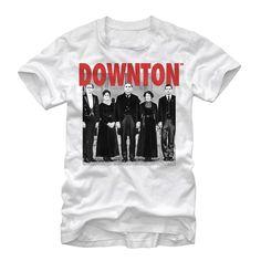 Downton Abbey Men's - Mr Carson and Crew T Shirt #downton #downtonabbey #pbs