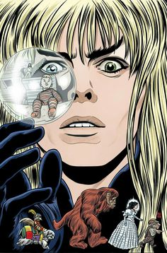 Labyrinth 30th anniversary comics