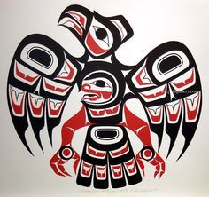Ron LaRochelle 'Raven' Northwest Coast Native Art