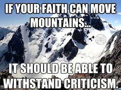 """Message to ANYONE who has """"faith"""" in mormonism....you know, that little mustard seed...."""