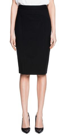 Skirts | Stretch Pencil Skirt