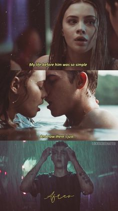 after movie I watched the movie After last night a - Movie Couples, Cute Couples, Film Quotes, Book Quotes, Cute Relationships, Relationship Goals, Love Movie, Movie Tv, Hardin After