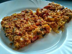 Zapekaná cuketa so zeleninou a kyslou smotanou Meatloaf, Lasagna, Healthy Recipes, Ethnic Recipes, Detox, Fitness, Bulgur, Vegetarische Rezepte, Meat Loaf