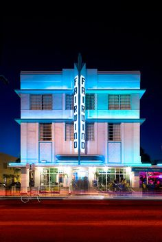 Art Deco, South Beach Miami, Neon