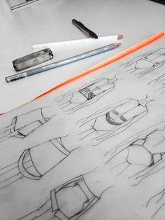 Christina DeSmet Designs- My design process. Women's Fashion, Fashion Design | DeSmitten