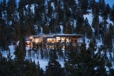 Nestled into the woods of the Club at Spanish Peaks in Big Sky, Montana, this distinctive home was designed by architect Reid Smith. Currently the only modern home in the development, this spectacular space boasts expansive windows, and an elegant steel structure. Artful infusions of stone and rough hewn elements create a uniquely contemporary and …