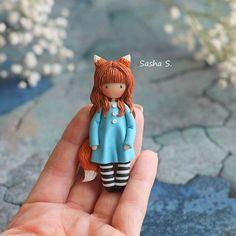 Instagram media sweet_sasha.s - Крошка-брошка 7 см высотой