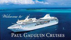Cruceros de lujo que navegan en el Pacífico Sur