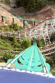 Phantom's Revenge, Kennywood Park, PA My favorite part of the coaster! I want to go!!!