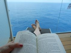 Relaxing at sea.  Celebrity Cruise Line, Eclipse