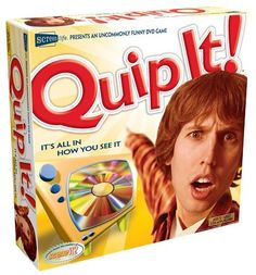 Quip It!  DVD Game $9.50