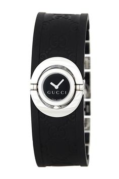 Gucci Twirl Black Watch.