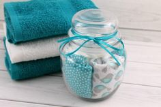 Reusable Dryer Sheets Save on Waste and Money - Beginner Sewing Projects Easy Sewing Projects, Sewing Projects For Beginners, Sewing Tutorials, Sewing Crafts, Sewing Ideas, Sewing Diy, Diy Crafts, Plastic Bag Dispenser, Plastic Bag Holders