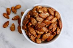 Sweet n' salty roasted almonds + more healthy holiday snacks - whitney Nutrition Program, Kids Nutrition, Crock Pot Dips, Chicken With Olives, Nut Recipes, Healthy Groceries, Holiday Snacks, Food Security, Food System