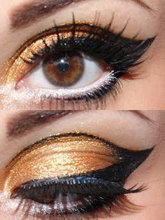 Resultado de imagen de ball makeup hooded eyes