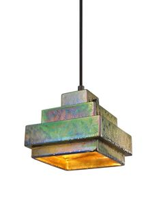 Lustre Square Pendant by Tom Dixon — ECC Lighting & Furniture