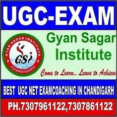Gyan Sagar Institute are Leading the Best UGC NET Coaching in Chandigarh,UGC NET Exam Coaching Institute and Best UGC NET Coaching Center in Chandigarh.