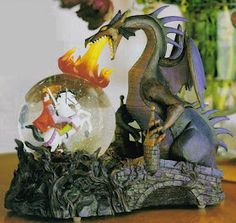 Disney Snow globes Sleeping Beauty