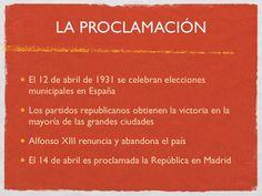 Slide 2 of 44 of La Segunda Republica