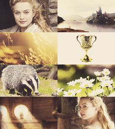"""THE FOUNDERS OF HOGWARTS - Helga Hufflepuff """"I'll teach the lot and treat them just the same."""""""