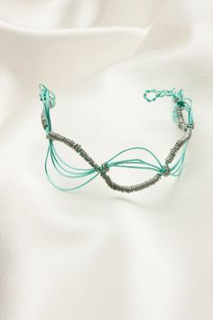 wire wrapped bracelet by kristinasgems on Etsy, $20.00