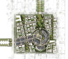 Adrian Smith + Gordon Gill wins Kazakhstan Astana World Expo 2017 competition - Expo Master Plan. Urban Design Diagram, Urban Design Plan, Masterplan Architecture, Architecture Plan, Architecture Diagrams, Architecture Portfolio, Landscape Plans, Landscape Design, The Plan