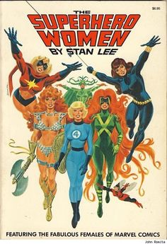 superhero women de Marvel
