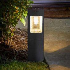 Vestal 365 Solar Powered Bollard Light In 2020 Bollard Lighting Bright Solar Garden Lights Solar Lights Garden