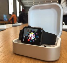 Amber Apple Watch Charger