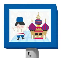 "Oopsy daisy, Fine Art for Kids presents Disney® ""It's a Small World - Russian Boy"" Nightlight $25"