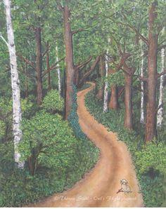 """Hidden Potential"" by Theresa Stahl (Owl's Flight Artwork) www.owlsflight.com"