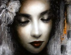 Yasuko - Inspirational Urban Paintings by Georges Armand Urban Painting, High Quality Wallpapers, Pretty Art, Contemporary Artists, Halloween Face Makeup, Drawings, Image, Beautiful, Faces