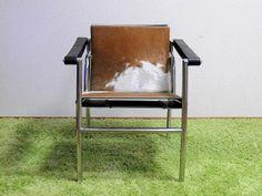 Le Corbusier ル・コルビジェ/LC1 ポニー スリングチェア/ポニースキン 北欧 インテリア 雑貨 家具 Modern ¥45000yen 〆01月01日