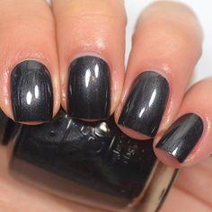 Black dress not optional opi unfrost