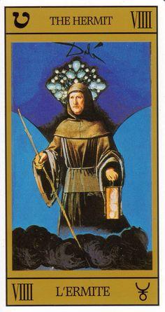 Tarot. Dali. The Hermit