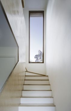Tinshed by Raffaello Rosselli. Nice use of a narrow vertical window. Really opens up the space. I like that the lines from this perspective are so simple and geometric.