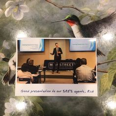 Incredibly thoughtful gesture from Geoff Morris. Thanks again for inviting Rick out to Mainstreet! Digital Footprint, Downers Grove, Good Presentation, Digital Strategy, Public Speaking, Differentiation, Gratitude, Digital Marketing, Appreciation