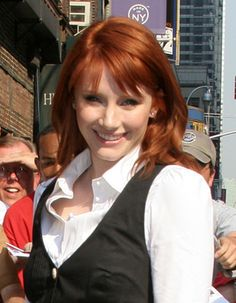bryce dallas howard- THIS is my All time FAV COPPER RED Color..I wish my hair was this length with curls