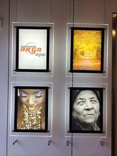 Cuadros personalizados en dibond metacrilato lienzo Pamplona Luminosos Arga | Productos | Luminosos Arga