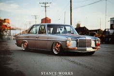 Joe Dale's 1969 W114 Mercedes Benz.