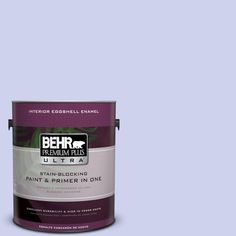 BEHR Premium Plus Ultra 1-gal. #P550-2 Artistic Violet Eggshell Enamel Interior Paint