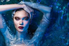 Behind the Scenes: Aquatic Beauty Shoot With Lindsay Adler Pool Photography, Underwater Photography, Beauty Photography, Editorial Photography, Fashion Photography, Underwater Photoshoot, Conceptual Photography, Photography Magazine, Photography Ideas